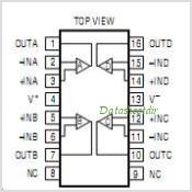 LTC6079CGN-PBF pinout,Pin out