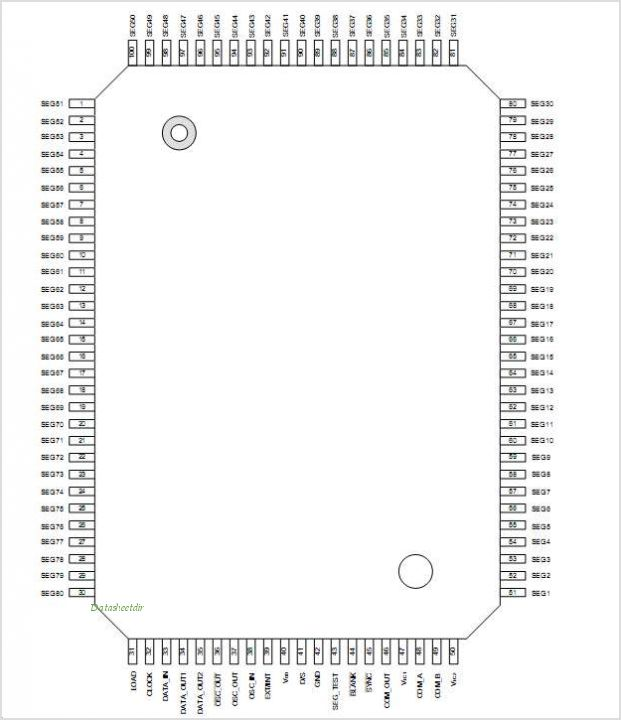 ML9470-11 pinout,Pin out
