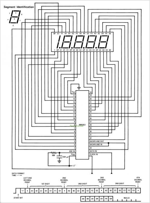 MM5453 circuits