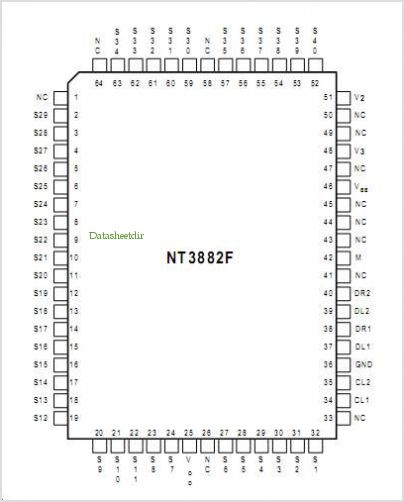 NT3882 pinout,Pin out