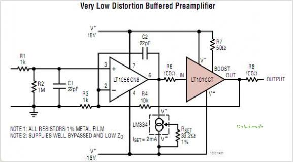 LT1010CT-PBF circuits