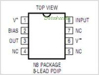 LT1010CN8 pinout,Pin out