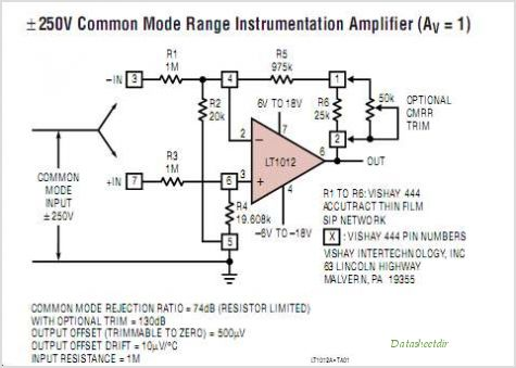 LT1012ACS8-PBF circuits