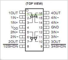 TLC075INE4 pinout,Pin out