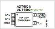 ADT6501 pinout,Pin out
