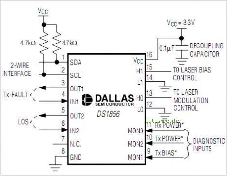 DS1856 circuits