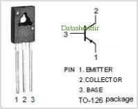 2SA1220 pinout,Pin out