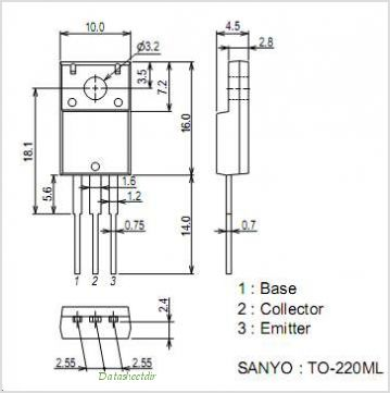 2SA2180 pinout,Pin out