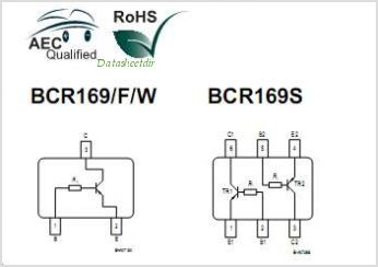 BCR169S pinout,Pin out