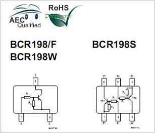BCR198S pinout,Pin out