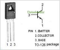 2SA1358 pinout,Pin out
