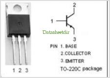 2SA1646 pinout,Pin out