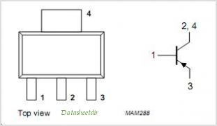 BSP16 pinout,Pin out