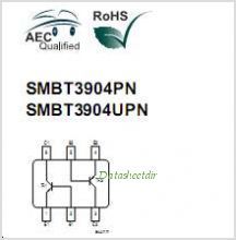 SMBT3904PN pinout,Pin out
