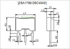 2SA1786 pinout,Pin out