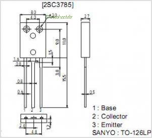 2SC3785 pinout,Pin out