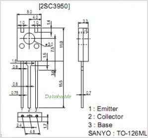 2SC3950 pinout,Pin out