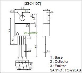 2SC4107 pinout,Pin out