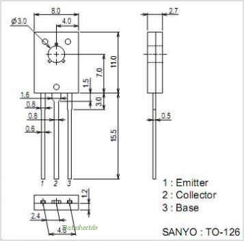 2SC6101 pinout,Pin out