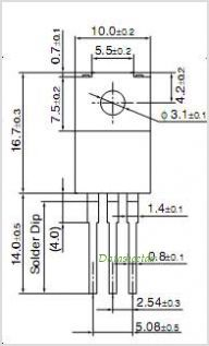 2SD1535 pinout,Pin out