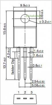 2SD2420 pinout,Pin out