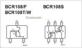 BCR108S pinout,Pin out