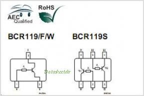 BCR119S pinout,Pin out
