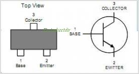 MMBT2222AW pinout,Pin out