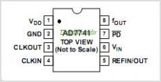 AD7742 pinout,Pin out