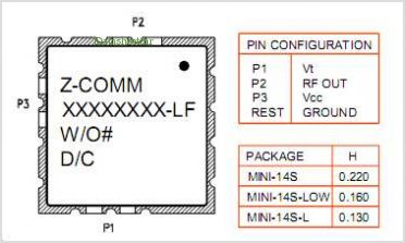 CLV0625B-LF pinout,Pin out