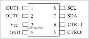 DS1085LZ-12B2 pinout,Pin out
