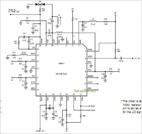 DS8911 circuits