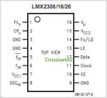 LM2326 pinout,Pin out