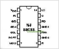 NJ88C33 pinout,Pin out