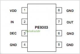 PE9303 pinout,Pin out