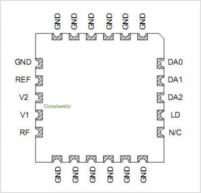 PNP-1619-P22 pinout,Pin out