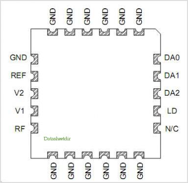PNP-1623-P22 pinout,Pin out