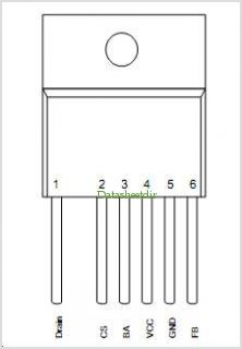ICE3BR0665JF pinout,Pin out