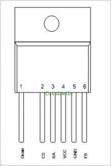 ICE3BR1065JF pinout,Pin out