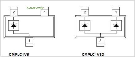 CMPLC1V5 pinout,Pin out