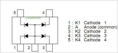 NNCD6.8PG pinout,Pin out