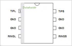CLP30-200B1RL pinout,Pin out