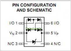 NUP2202W1 pinout,Pin out