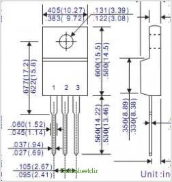 FR16C01CF pinout,Pin out