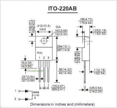 SF16C01CF pinout,Pin out