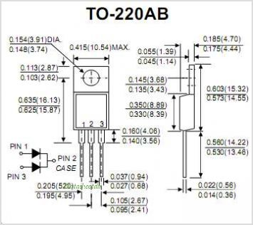 MBR10100CT pinout,Pin out