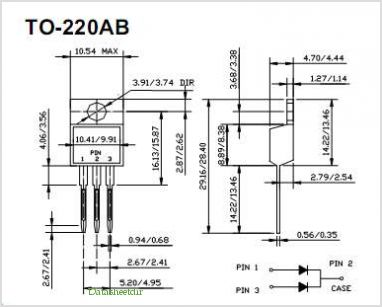 MBR1030CT pinout,Pin out