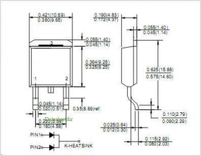 MBRB2545CT pinout,Pin out
