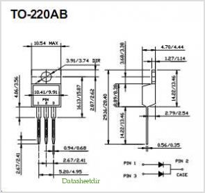 SBL2030CT pinout,Pin out