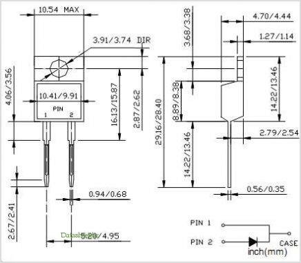 SBL530 pinout,Pin out